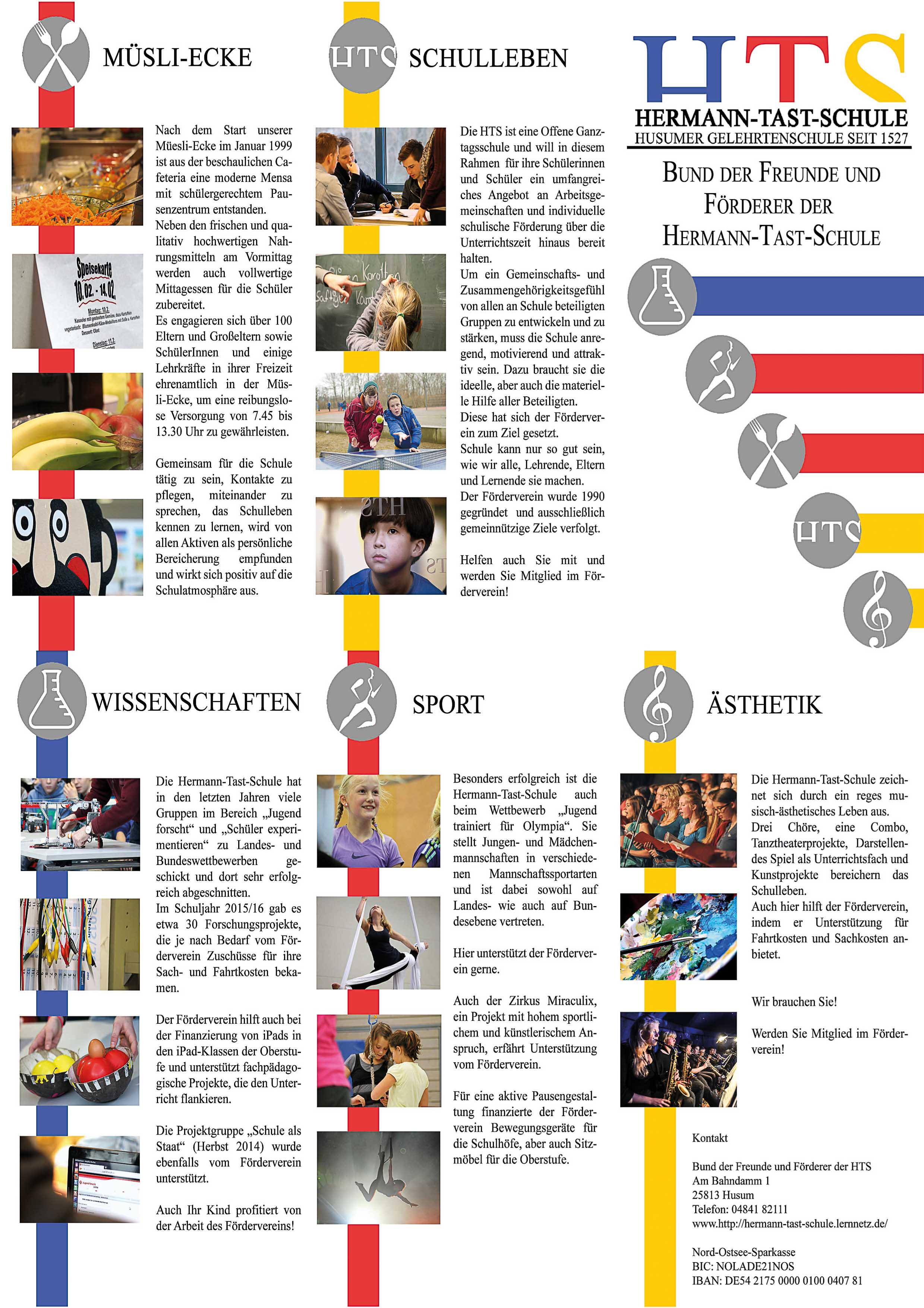 Förderverein - Hermann-Tast-Schule